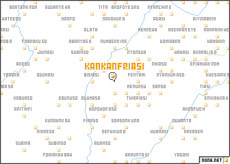 map of Kankanfriasi