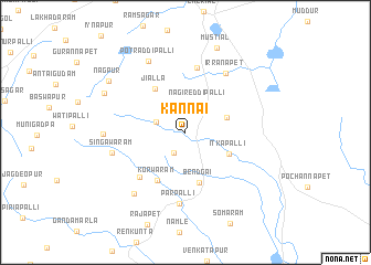 map of Kannai