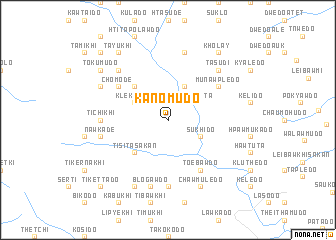 map of Kanomudo