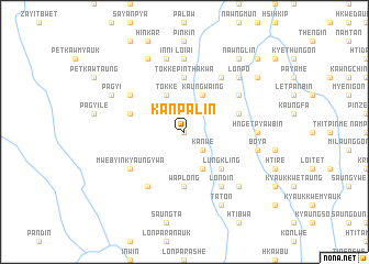 map of Kanpalin