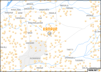 Kanpur Pakistan map nonanet