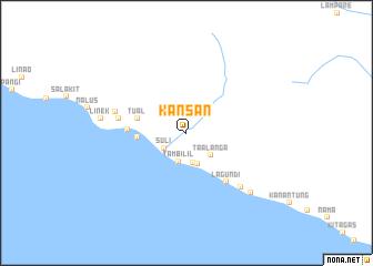 map of Kansan