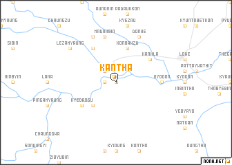 map of Kantha
