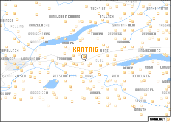 map of Kantnig