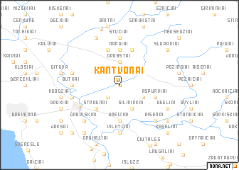 map of Kantvonai