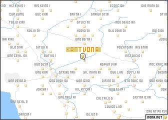 map of Kantvonai