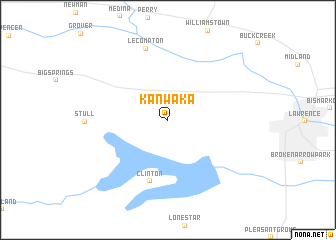 map of Kanwaka