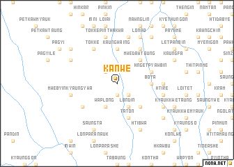 map of Kanwe
