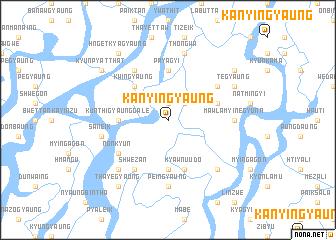 map of Kanyingyaung