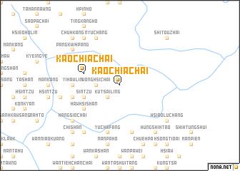 map of Kaochia Chai