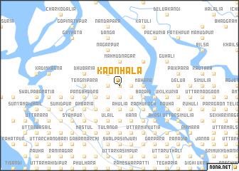 map of Kāonhala