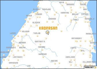 map of Ka-orasan