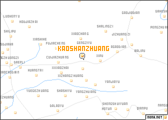 map of Kaoshanzhuang