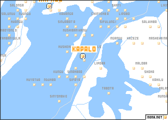 map of Kapalo