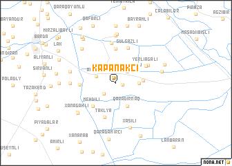 map of Kǝpǝnǝkçi