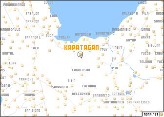 map of Kapatagan