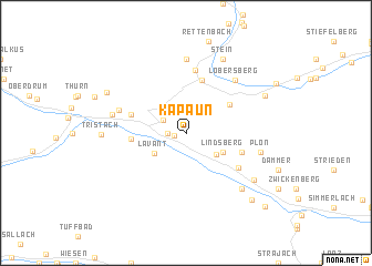 map of Kapaun