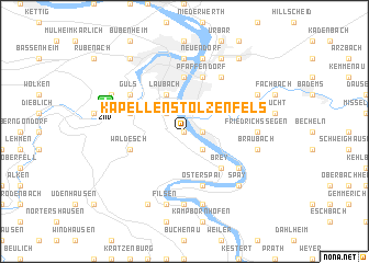 map of Kapellen Stolzenfels