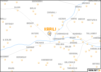 map of Kapılı