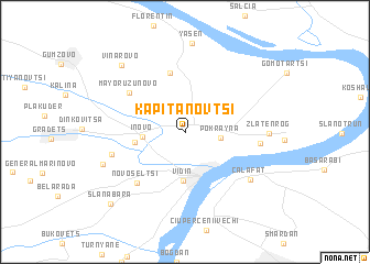 map of Kapitanovtsi