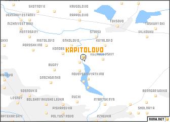 map of Kapitolovo