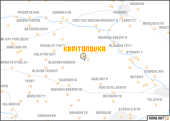 map of Kapitonovka