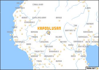 map of Kapodlusan