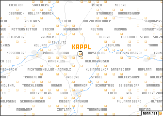 map of Kappl