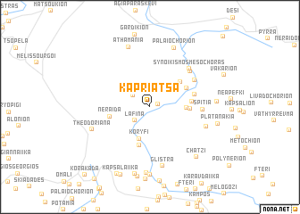 map of Kapriátsa