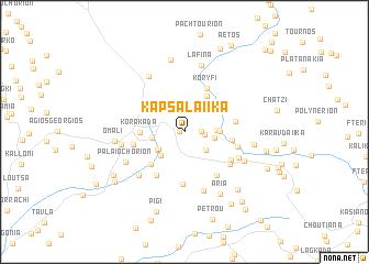 map of Kapsalaíïka