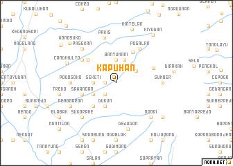 map of Kapuhan