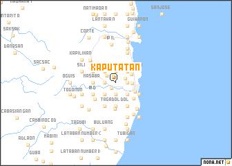 map of Kaputatan