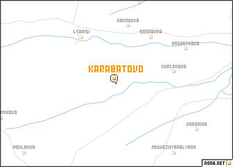 map of Karabatovo