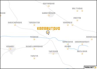 map of Karabutovo