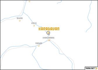 map of Karadavan