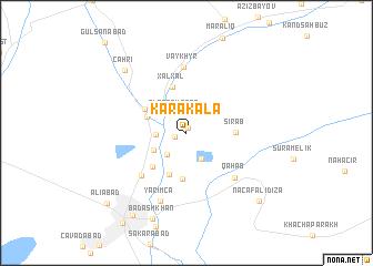 map of Karakala