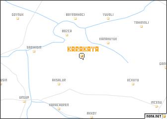 map of Karakaya