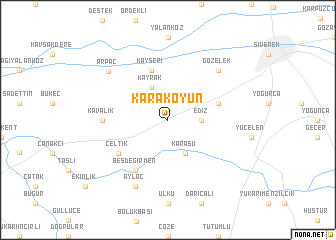 map of Karakoyun