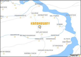map of Karamasary
