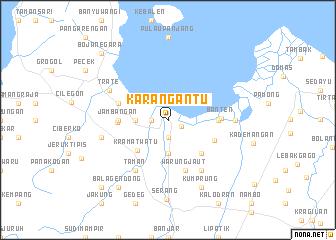 map of Karangantu