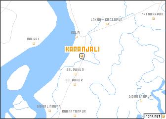map of Karanjali
