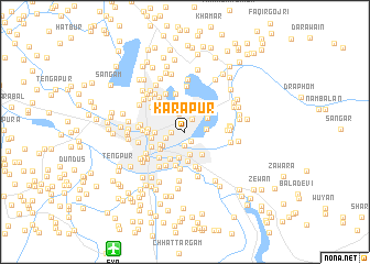 map of Kārapur