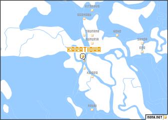 map of Karatiowa
