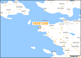 map of Karatuma