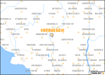 map of Karaweseik