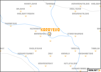 map of Karayevo