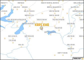 map of Karcewo