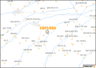 map of Kardash