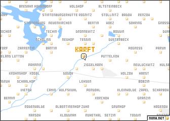 map of Karft
