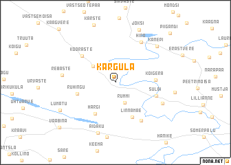 map of Kärgula